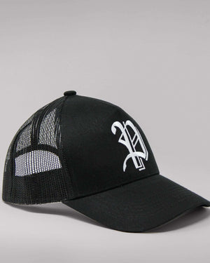 Load image into Gallery viewer, 'P' Logo Snapback Trucker Hat
