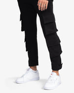 SWEATPANT: CARGO (BLACK)