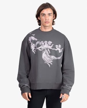 Load image into Gallery viewer, SWEATSHIRT: ENLIGHTENMENT (CHARCOAL)