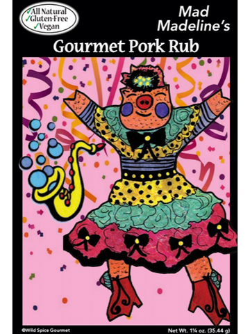 Mad Madeline's Gourmet Pork Rub