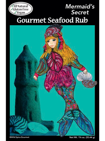 Mermaid's Secret Gourmet Seafood Rub
