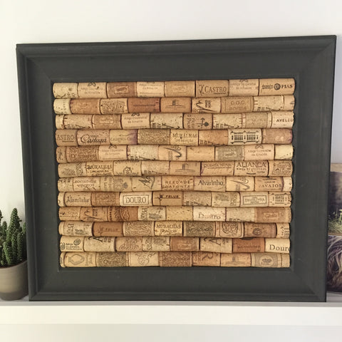Corkboard from Used Wine Corks