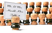 Classic Champagne Corks with Glass Ring