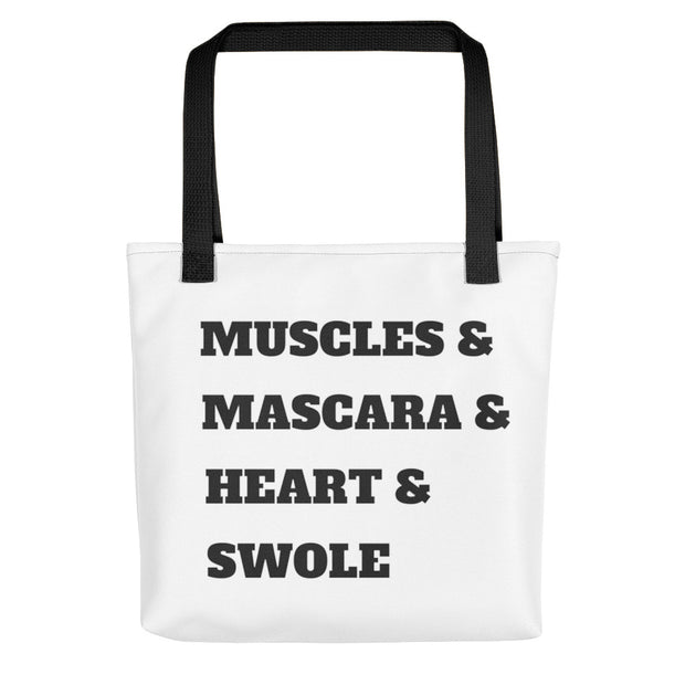 Muscles & Mascara HNS Tote bag