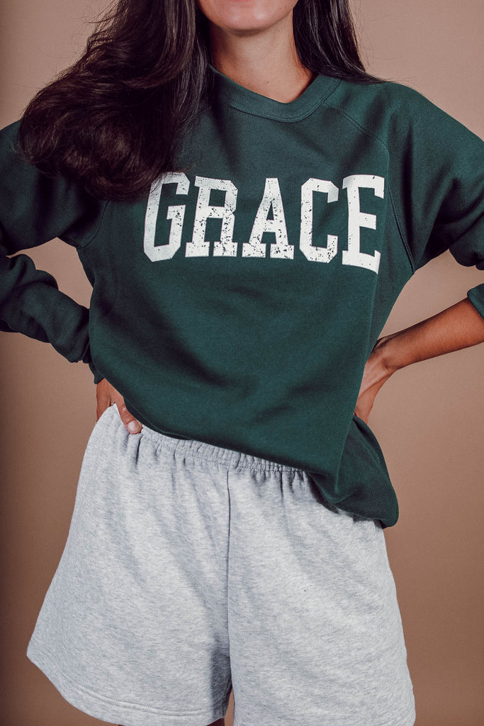 GRACE Collegiate Fleece Sweatshirt