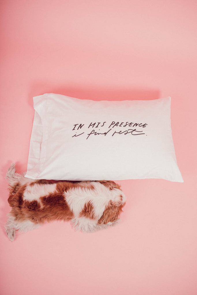 I Find Rest Pillowcase