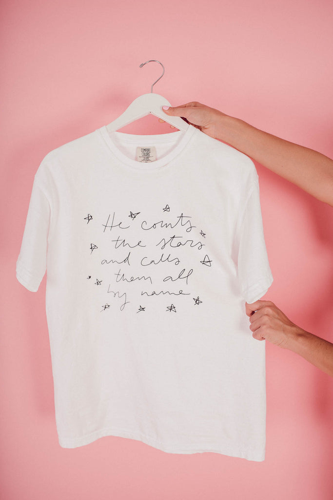 Counting Stars Doodled Tee