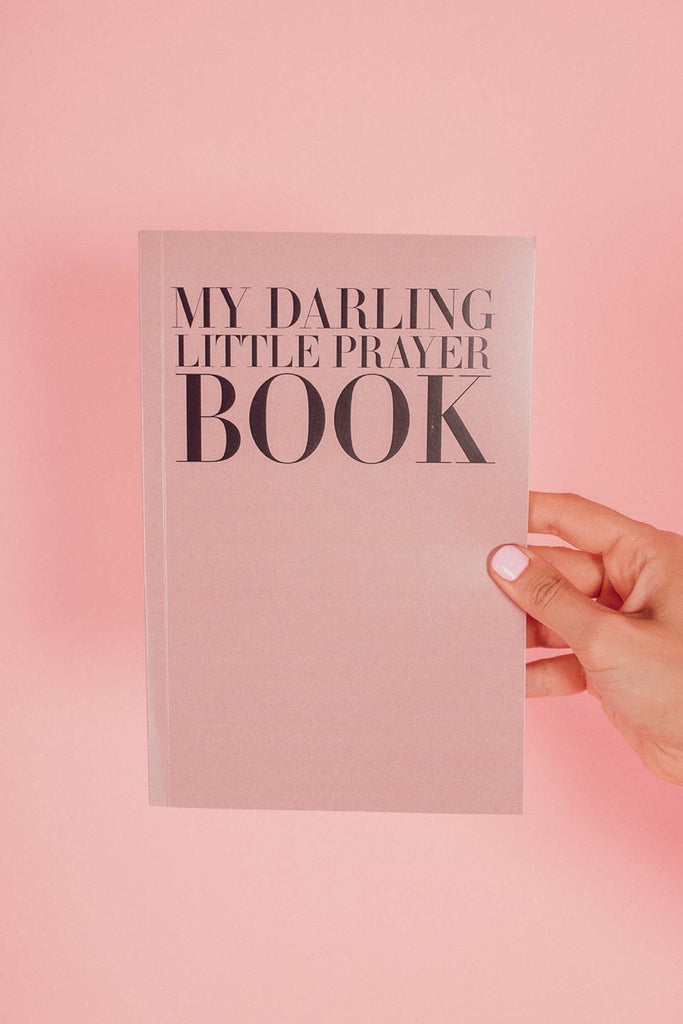 Darling Prayer Book Journal