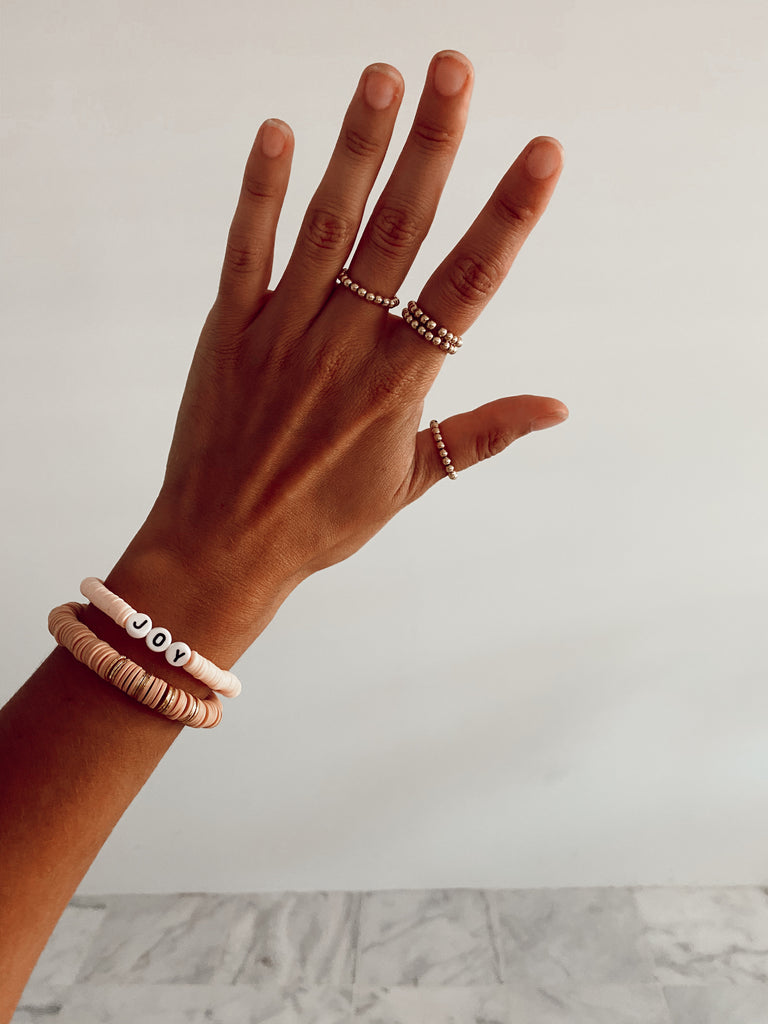 Spread Joy Bracelet Stack