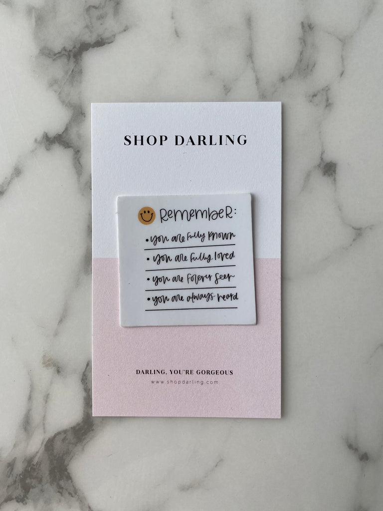 Darling Stickers