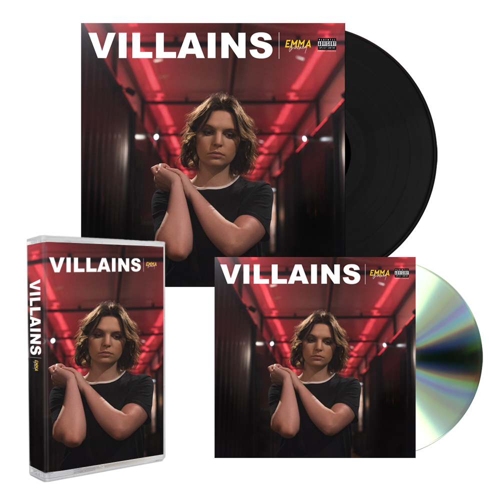 VILLAINS CASSETTE + CD + VINYL