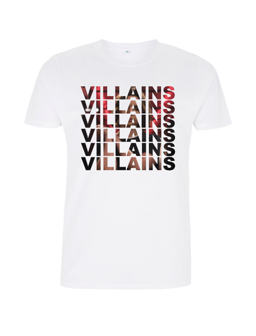 VILLAINS REPEAT T-SHIRT