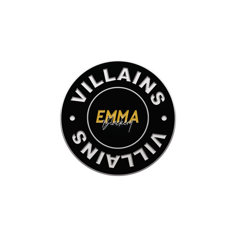 VILLAINS ENAMEL PIN BADGE