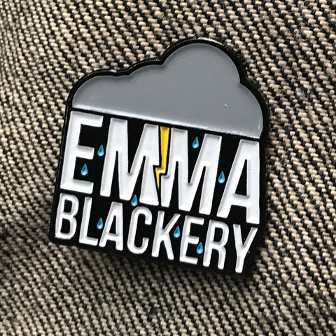 'Cloud Logo' Enamel Pin Badge