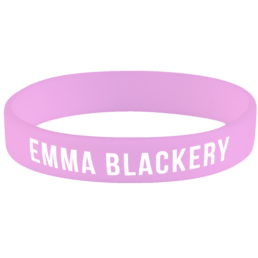 'Emma Blackery' Pink Wristband