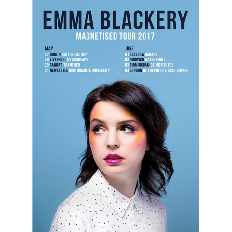 'Magnetised Tour 2017' Poster