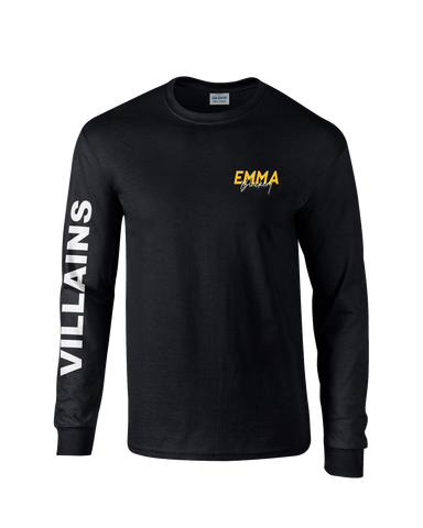 VILLAINS LONG SLEEVE T-SHIRT