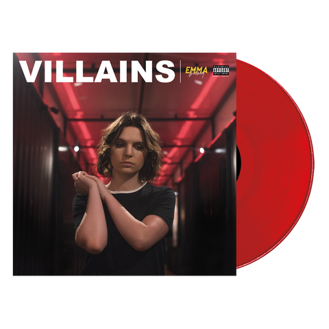 VILLAINS EXCLUSIVE RED VINYL