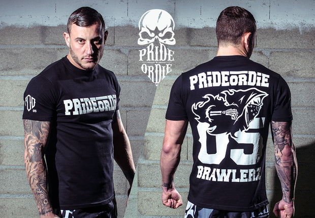 "Pride or Die- ""BRAWLERZ"" T-shirt"