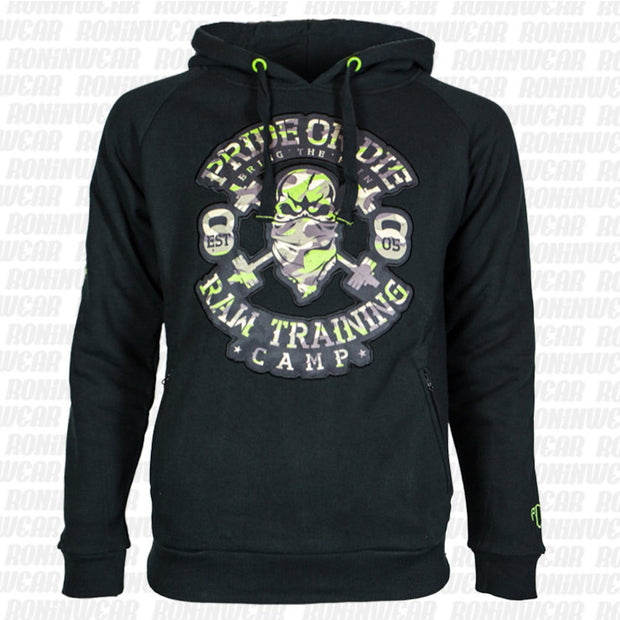 "Pride or Die- ""RAW TRAINING CAMP"" Jungle hoodie"