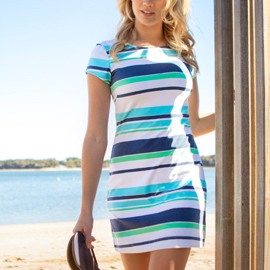 View all prints in Candy Stripe Lagoon