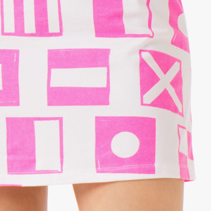 View all prints in Nauti Flags Pink