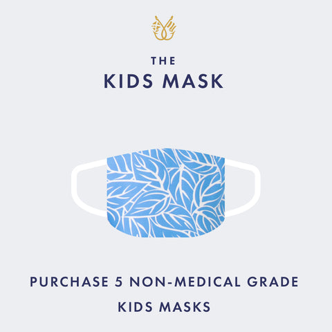 KIDS 5 Non-Medical Grade Masks for $25