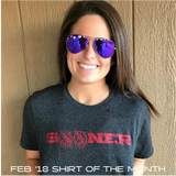 Sooner Shirt of the Month Club