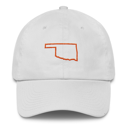 Oklahoma Orange Outline Cap