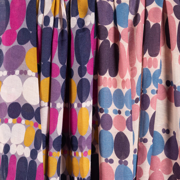 Colourful Spots Print Scarf