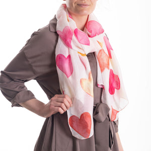 Love Heart Scarf