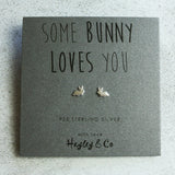 Little Bunny Sterling Silver Earrings