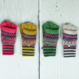 Fabulous Fairisle Knit Gloves