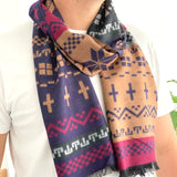 Mens Fairisle Winter Scarf