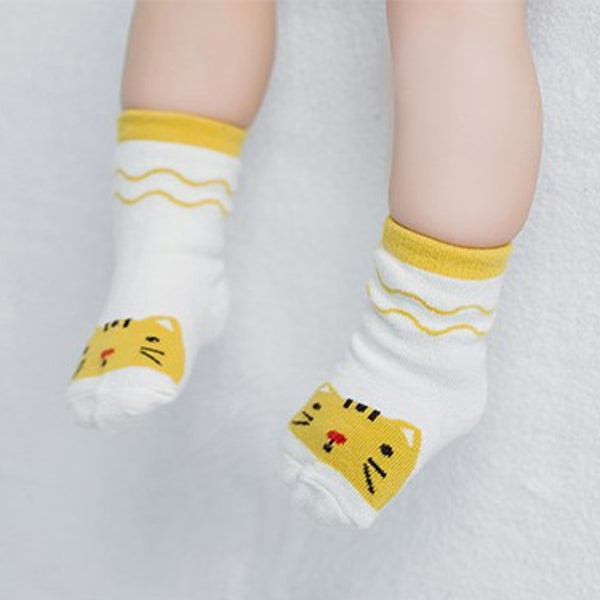 Little Kitten Baby Socks