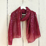 Rose Gold Splash Print Scarf