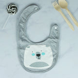 Safari Animals Baby Bib