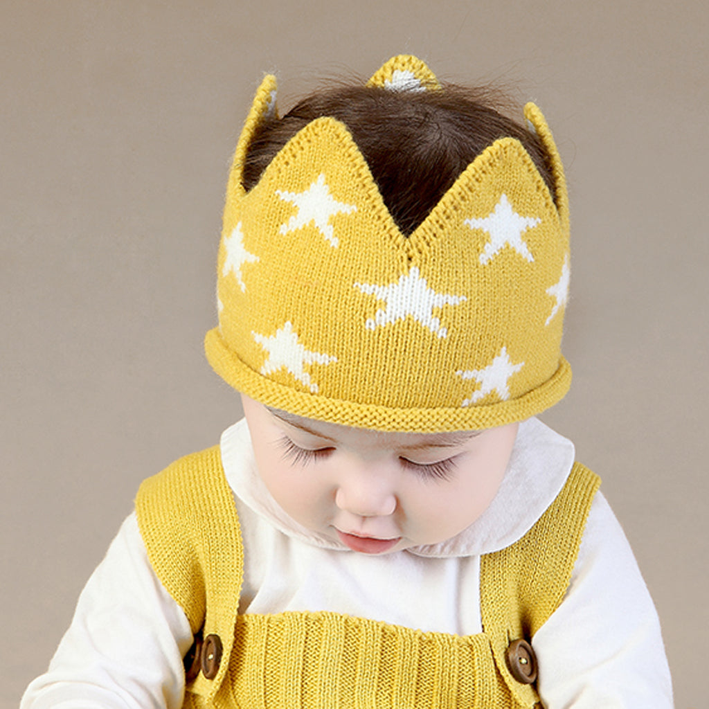 Star Knitted Crown
