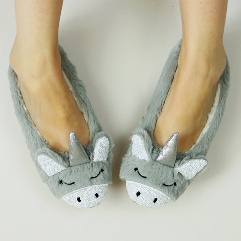 Magical Unicorn Ballet Slippers