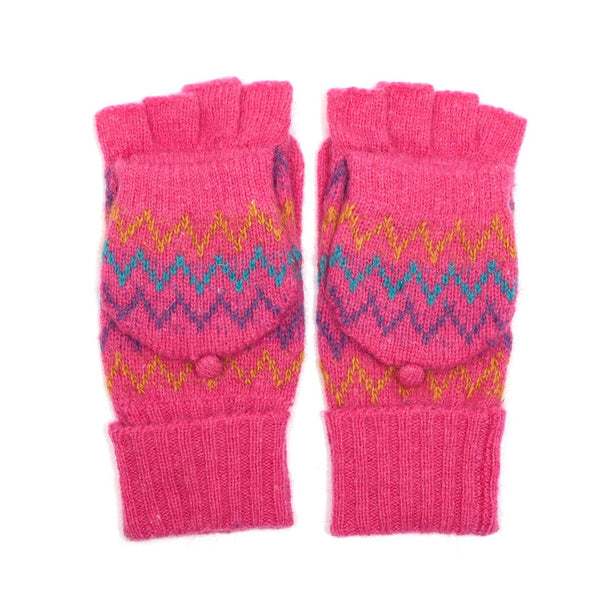 Zig Zag Colourful Gloves