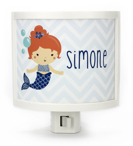 Azura the Mermaid Personalized Night Light