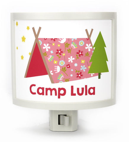 Camp Daisy Personalized Night Light