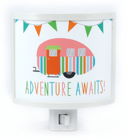 Adventure Awaits Night Light