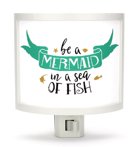 Be a Mermaid Night Light