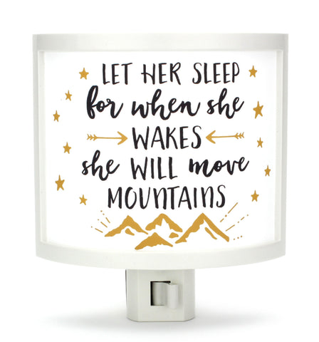 Let Her Sleep Night Light