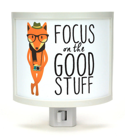 Focus on the Good Stuff Night Light
