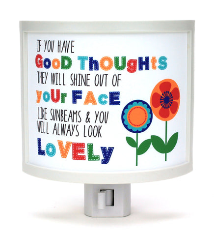 GOOD Thoughts Night Light
