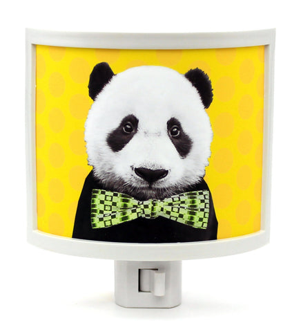 Bow Tie Panda Night Light