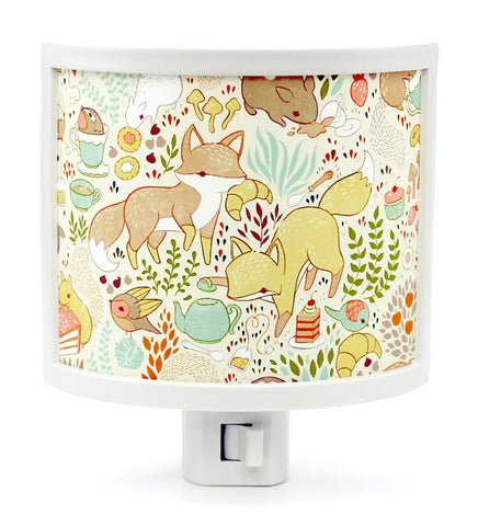 Animal Tea Party Night Light