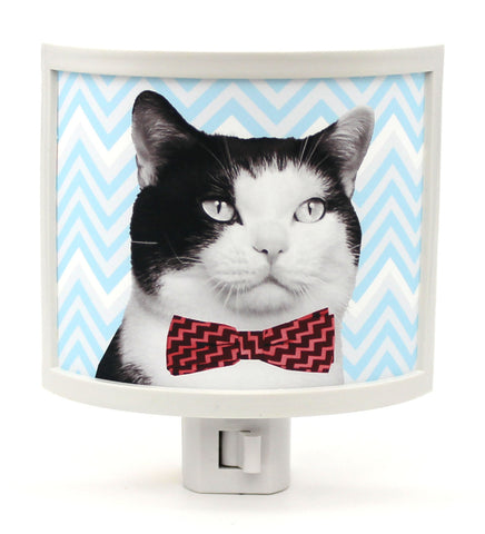 Bow Tie Kitty Night Light
